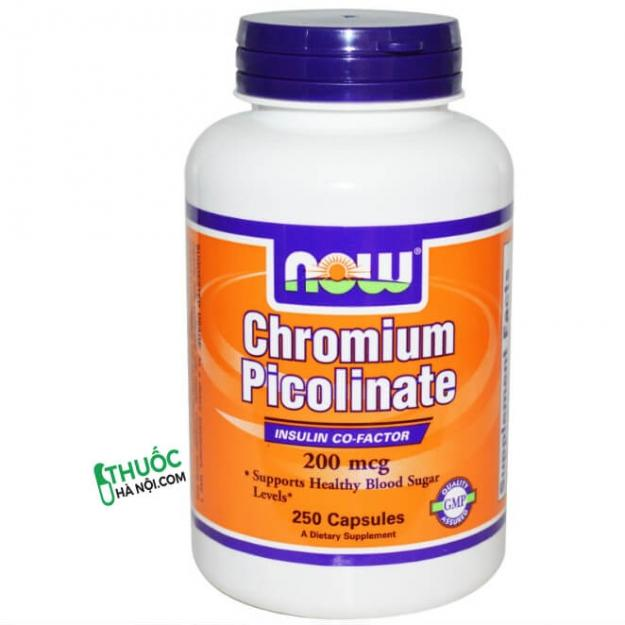 Thực phẩm chức năng Chromium- kiểm soát lượng đường trong máu